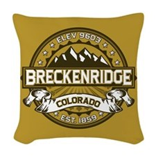 Breckenridge Tan Woven Throw Pillow