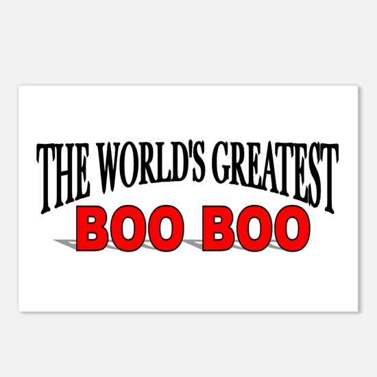 """The World's Greatest Boo Boo"" Postcards (Package"