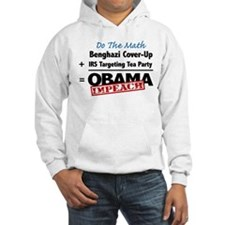 Benghazi Cover Up Impeach Obama Hoodie