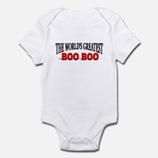 """""""The World's Greatest Boo Boo"""" Infant Bodysuit"""