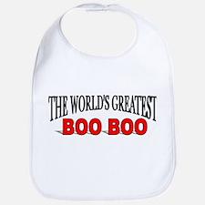 """The World's Greatest Boo Boo"" Bib"