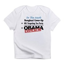 Benghazi Cover Up Impeach Obama Infant T-Shirt