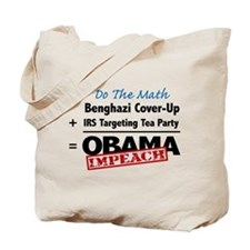 Benghazi Cover Up Impeach Obama Tote Bag