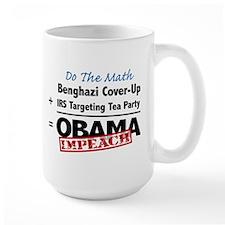 Benghazi Cover Up Impeach Obama Mug