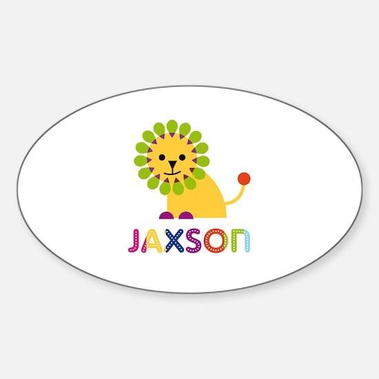 Jaxson Loves Lions Decal
