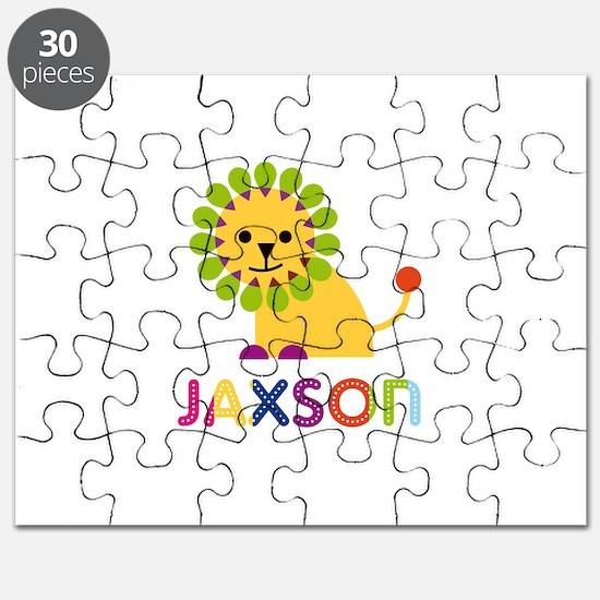 Jaxson Loves Lions Puzzle