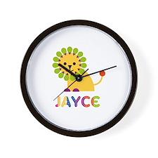 Jayce Loves Lions Wall Clock