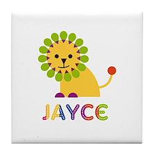 Jayce Loves Lions Tile Coaster