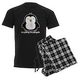 Penguin Men's Dark Pajamas