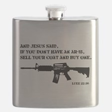 Jesus AR-15 Flask