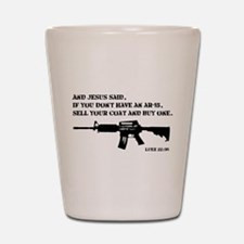 Jesus AR-15 Shot Glass