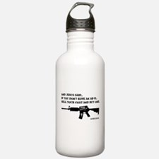 Jesus AR-15 Water Bottle