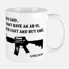 Jesus AR-15 Mug