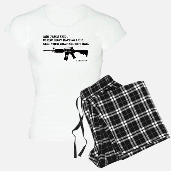 Jesus AR-15 Pajamas
