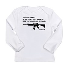 Jesus AR-15 Long Sleeve T-Shirt