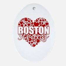 Boston Strong Ornament (Oval)