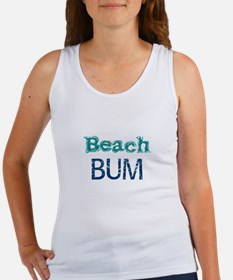 Beach Bum (blue) Tank Top