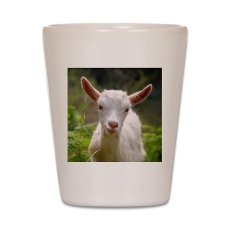 Baby goat Shot Glass