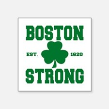 "Boston Strong Square Sticker 3"" x 3"""