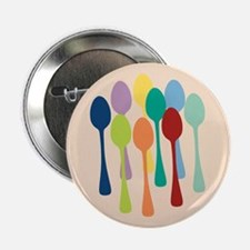 "Pop Art Spoons 2.25"" Button"
