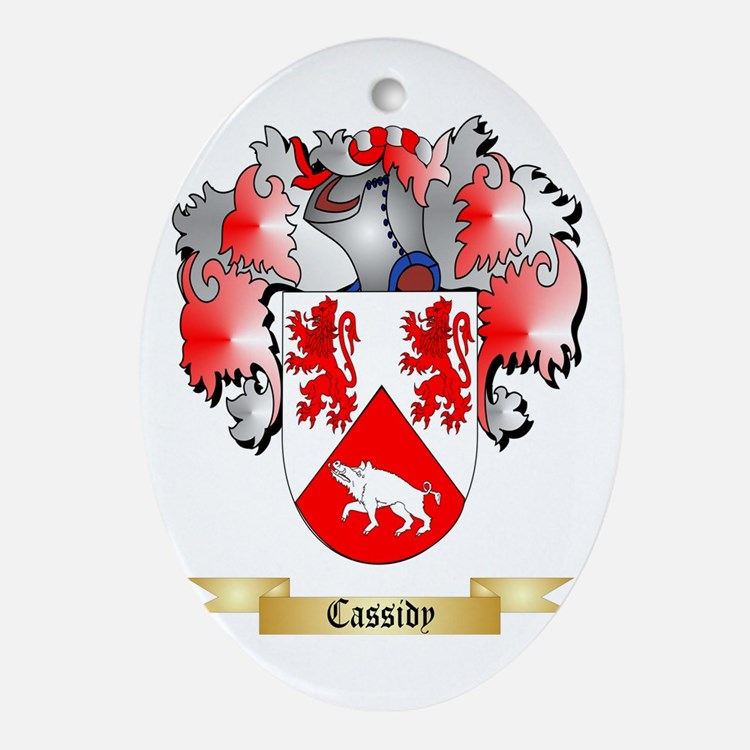 Cassidy Ornament (Oval)