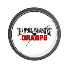 """The World's Greatest Gramps"" Wall Clock"