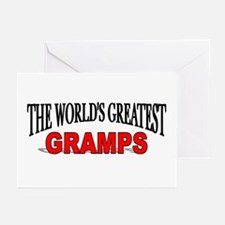 """The World's Greatest Gramps"" Greeting Cards (Pack"