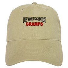 """""""The World's Greatest Gramps"""" Baseball Cap"""