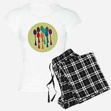 Pop Art Spoons Pajamas