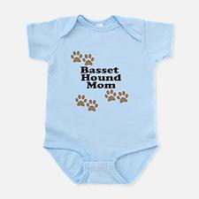 Basset Hound Mom Body Suit