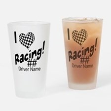 Custom Racing Drinking Glass