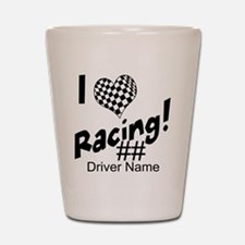 Custom Racing Shot Glass