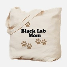 Black Lab Mom Tote Bag