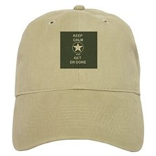 Keep Calm and Get ER Done Baseball Baseball Cap