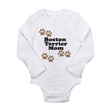 Boston Terrier Mom Body Suit