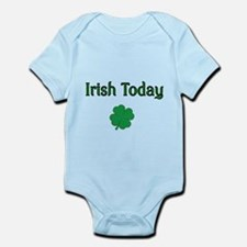 Irish Today with Shamrock Body Suit