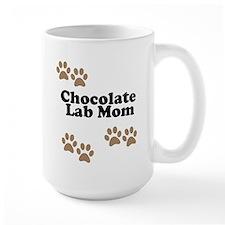 Chocolate Lab Mom Mug