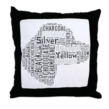 Purebred Labrador Retreiver Throw Pillow