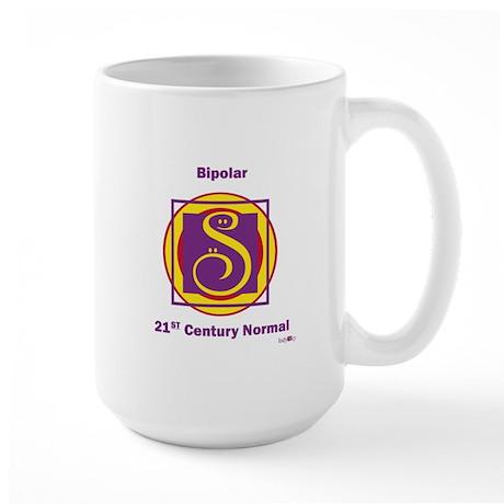 Bipolar 21st century normal Large Mug