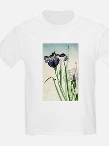 Irises - anon - 1900 - woodcut T-Shirt