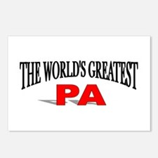 """The World's Greatest Pa"" Postcards (Package of 8)"