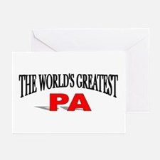 """The World's Greatest Pa"" Greeting Cards (Package"