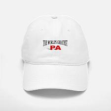 """The World's Greatest Pa"" Baseball Baseball Cap"