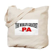 """""""The World's Greatest Pa"""" Tote Bag"""