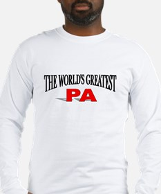 """""""The World's Greatest Pa"""" Long Sleeve T-Shirt"""