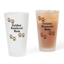Golden Retriever Mom Drinking Glass