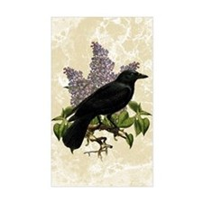 Lilacs And Crow Decal