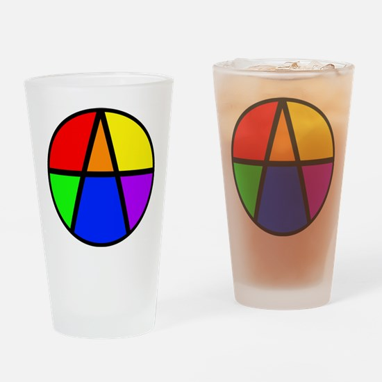 I Am An Ally Drinking Glass