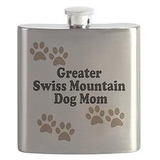 Greater Swiss Mountain Dog Mom Flask