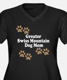 Greater Swiss Mountain Dog Mom Plus Size T-Shirt